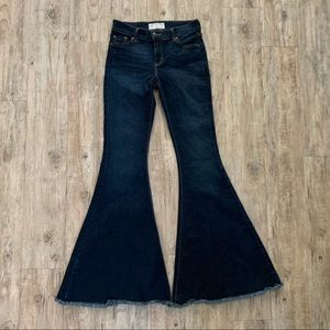 Free People stretch flares size 27